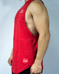 Scal Deluxe Cutoff Tee - Red - Scal Clothing - 2