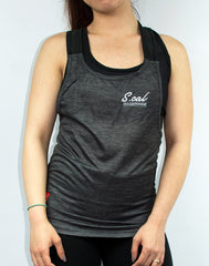 Women's Flexible Tank - Charcoal