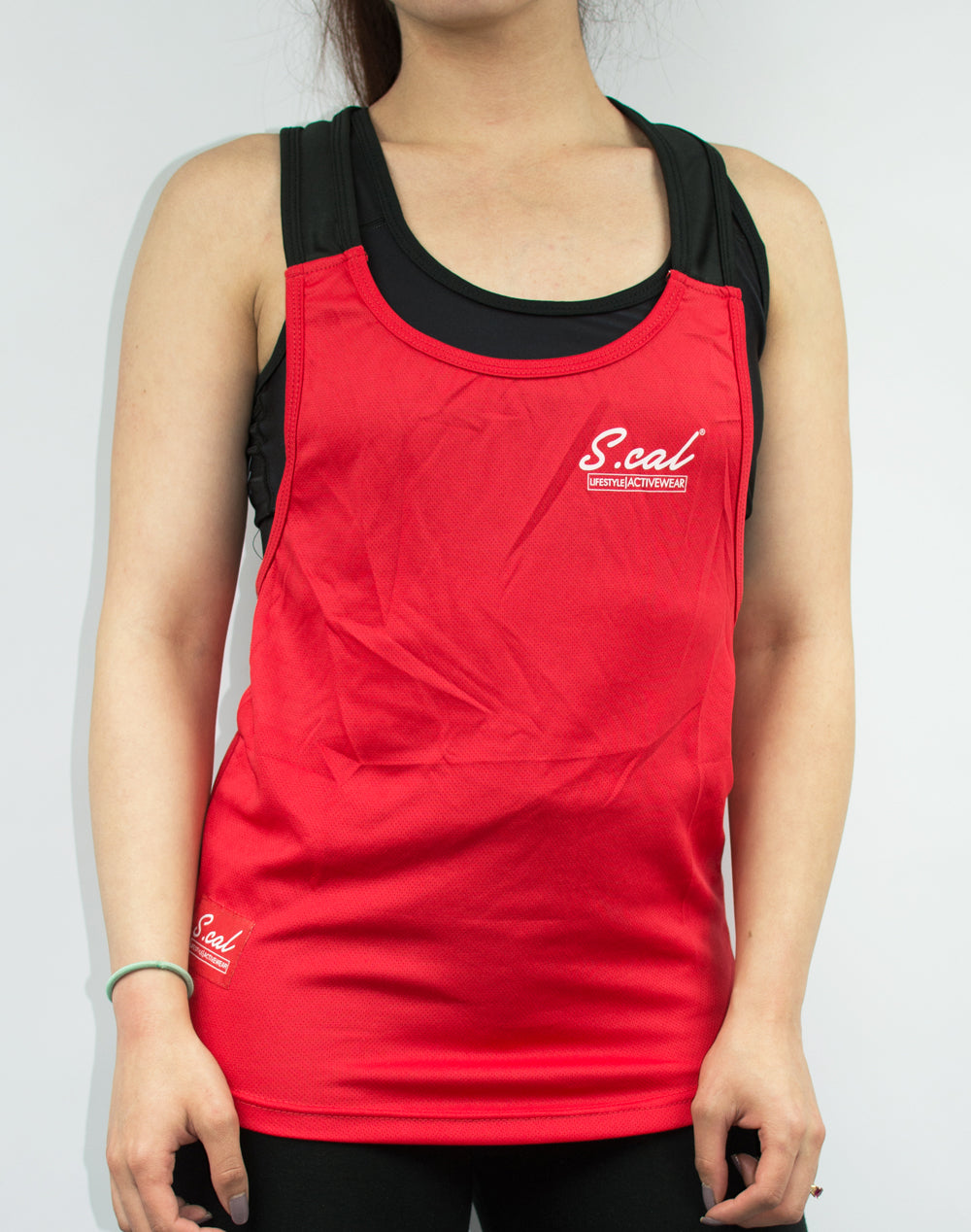 Women's Flexible Tank - Red - Scal Clothing