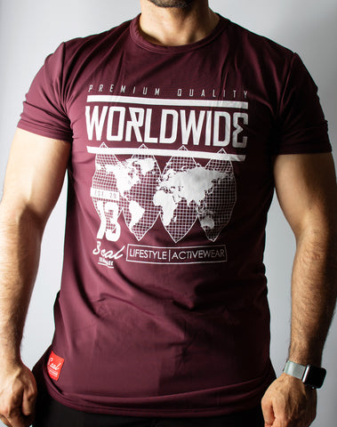 Worldwide - Burgundy