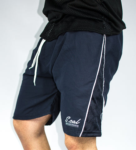 Scal Beach Shorts - Navy - Scal Clothing