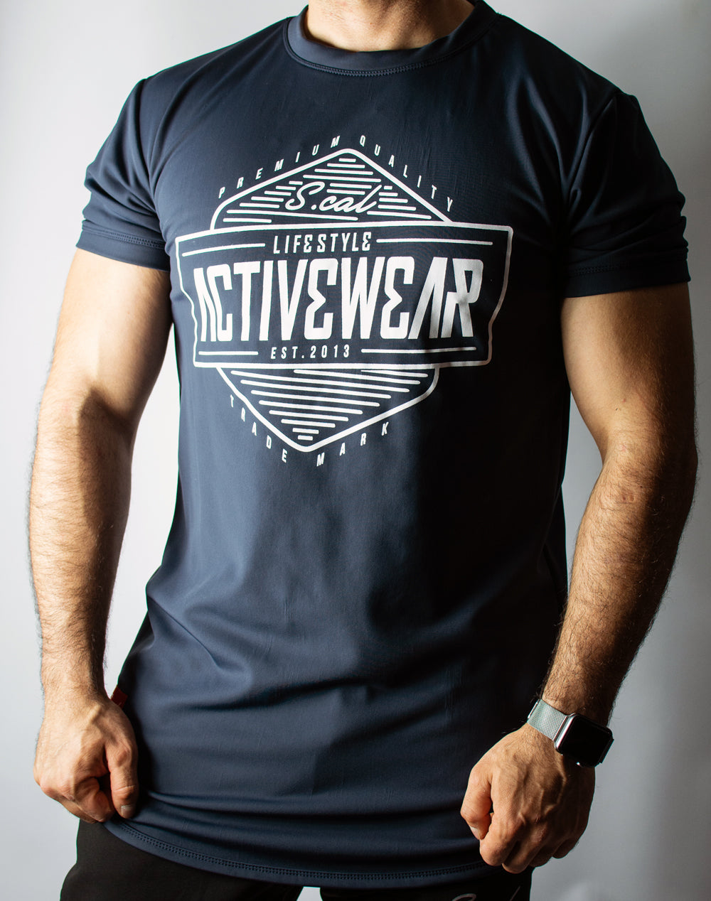 Activewear Tee - Midnight Grey