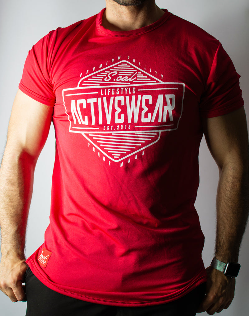 Activewear Tee - Red