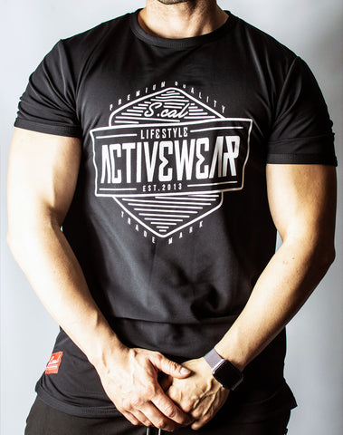 Activewear Tee - Black