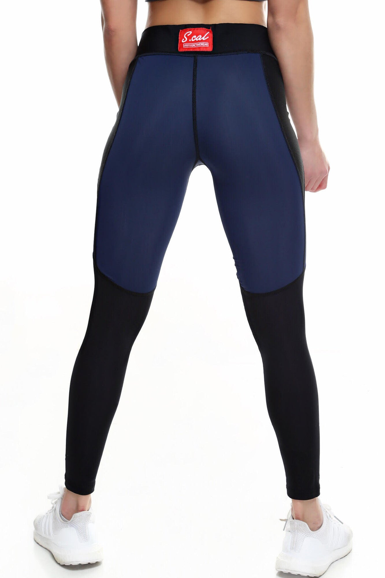 Women's Signature Leggings - Navy Blue - Scal Clothing