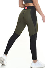 Women's Signature Leggings - Olive - Scal Clothing
