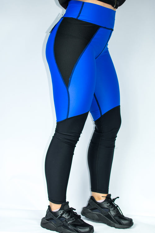 Women's Signature Leggings - Royal Blue - Scal Clothing