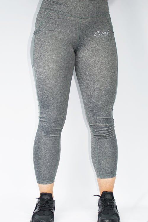 Women's Flo Leggings - Wolf Grey - Scal Clothing