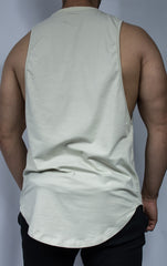 Scal Deluxe Cutoff Tee - Cream - Scal Clothing