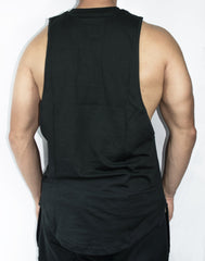 Scal Deluxe Cutoff Tee - Black - Scal Clothing - 3