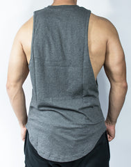 Scal Deluxe Cutoff Tee - Charcoal Grey - Scal Clothing - 3