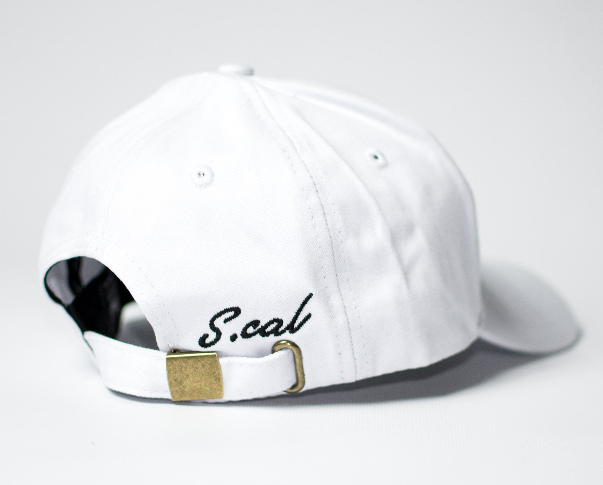 Scal Dad Hat - White - Scal Clothing