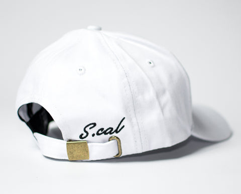 Scal Dad Hat - White