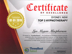 3 three best rated Lyn Megan Macpherson Certificate of Excellence