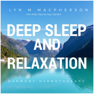 Deep Sleep and Relaxation Hypnotherapy CD & DOWNLOAD