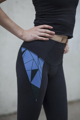 Print Relay Yoga Pant Mini Lining