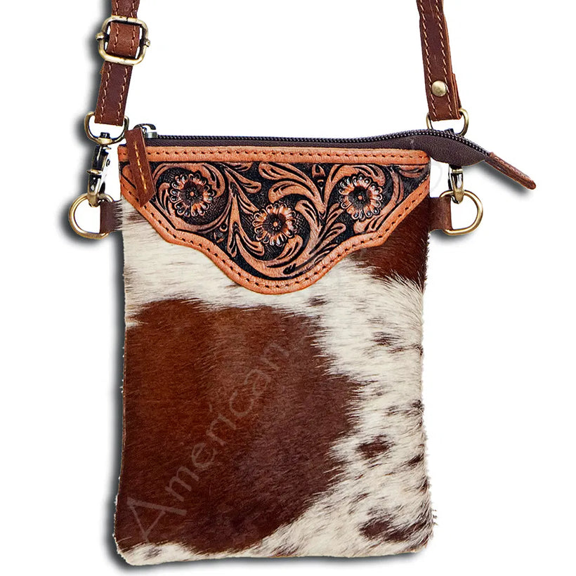 Cowhide Crossbody (Tall)
