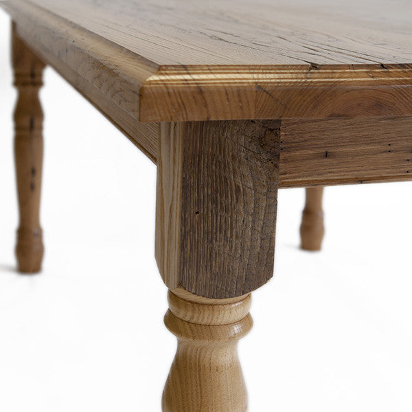 Dining Table – Reclaimed Wormy Chestnut