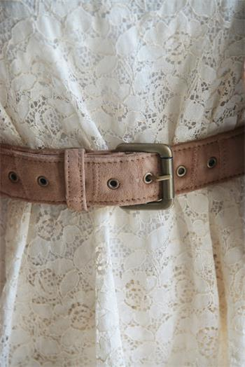 Leather Belt - Warm Brown