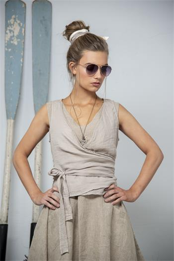 Best Hopes Linen Vest