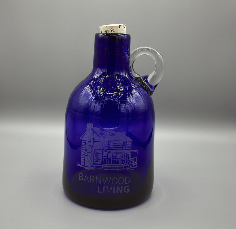 Medium Blenko Moonshine Jug