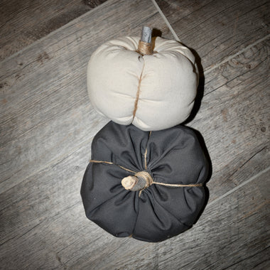 Canvas Pumpkins - Small