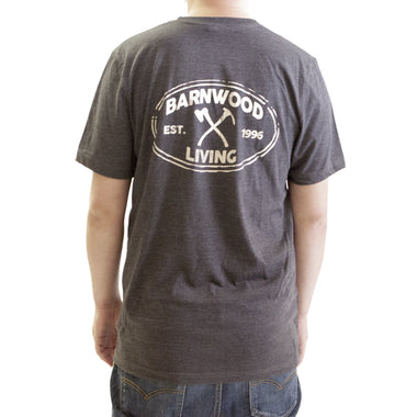 CREW Shirt *Made in USA* - Dark Heather Grey