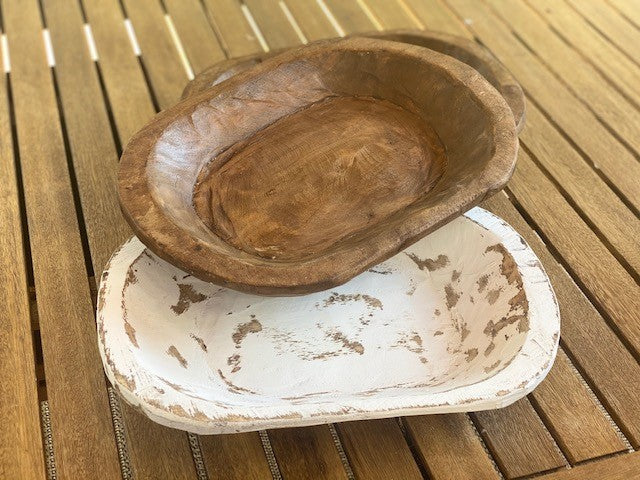 Carved Wooden Bowls