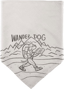 Pet Bandannas- Wander Dog