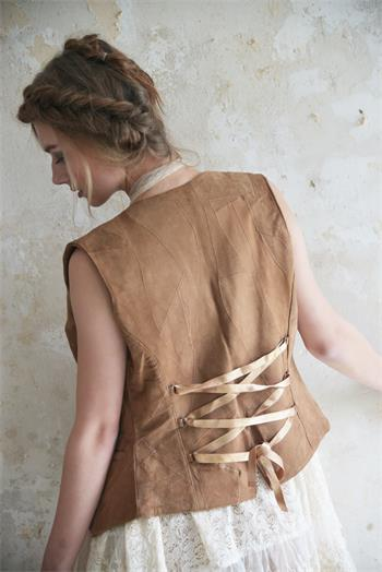 Treasured Times-Warm Brown (Back detail)