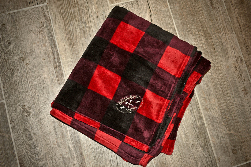 Barnwood Living Plush Blanket