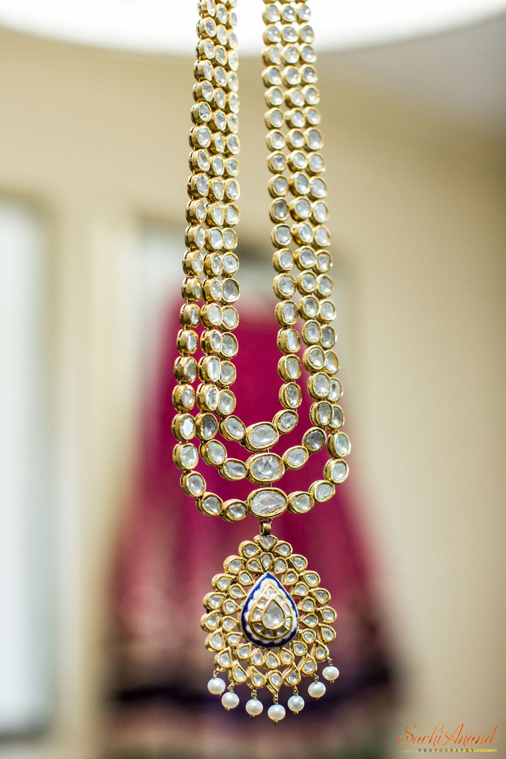 Indian Kundan Necklace Bride