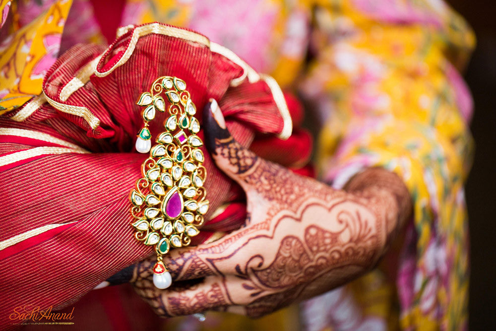 Pagdi Indian Groom Jewelry