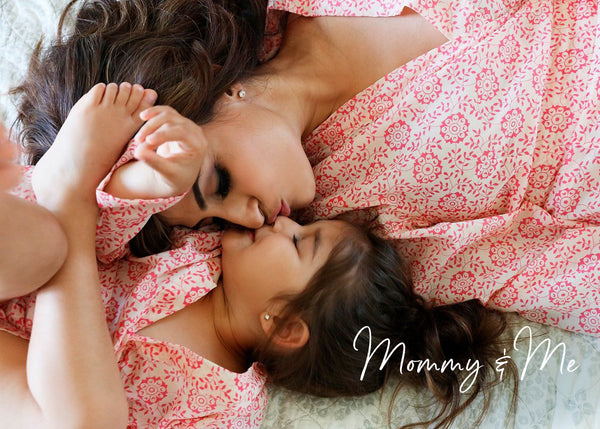 Mommy and Me Robes by PajamaSutra