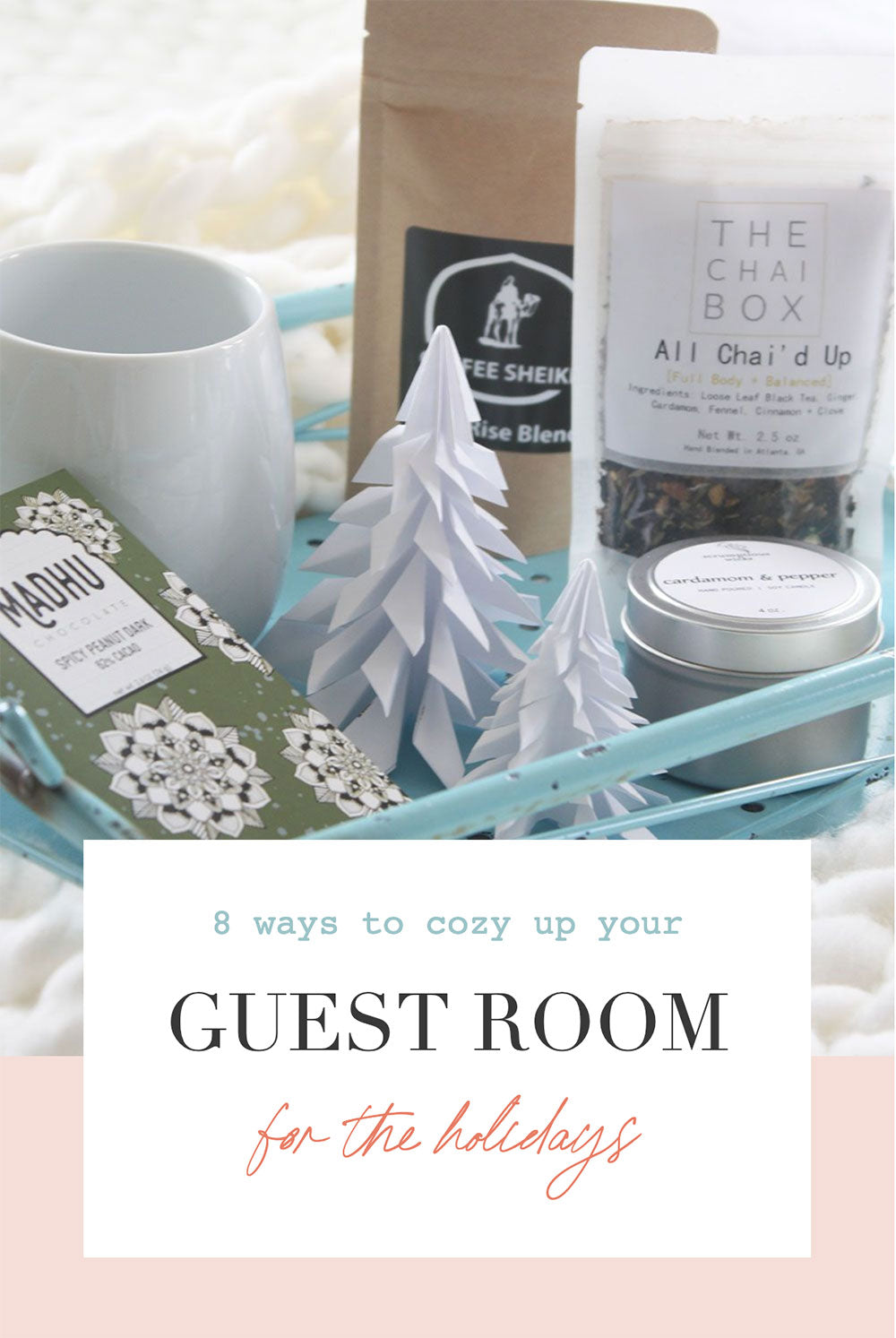 eight ways to cozy up your guest room