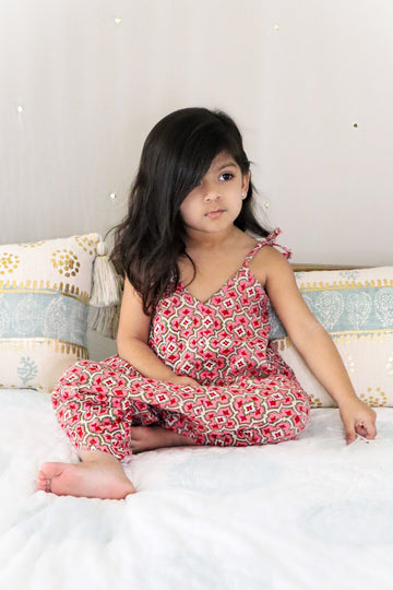 Romper - Girl's Romper In Megha