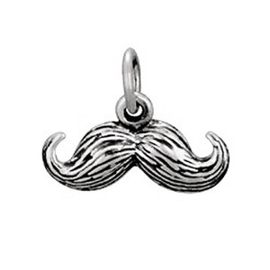 Moustache Charm | Sterling Silver Movember