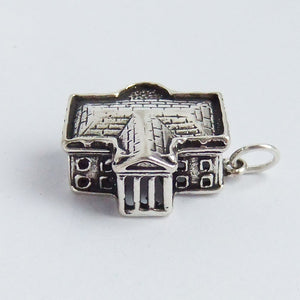 The White House Charm Sterling Silver USA Pendant