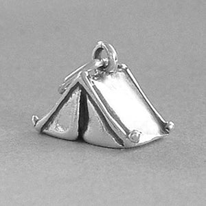 Sterling Silver Camp Tent Charm