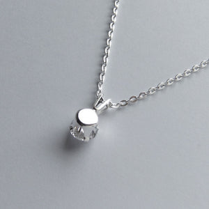 Swarovski Crystal Solitaire Necklace