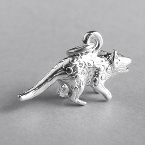 Quoll Australian Animal Sterling Silver or Gold Charm | Silver Star Charms