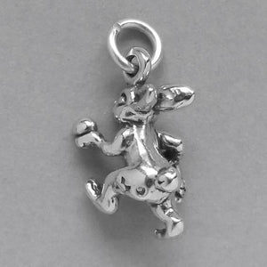 Sterling Silver Easter Rabbit Charm