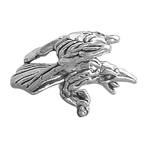 Sterling Silver Crow Charm | Amanda Jo Charms