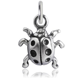 Sterling Silver Ladybird Charm