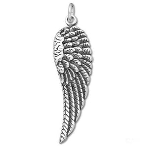 Feathered Wing Charm Pendant | Amanda Jo Charms