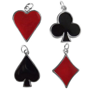 Playing Card Suit Symbol Charm