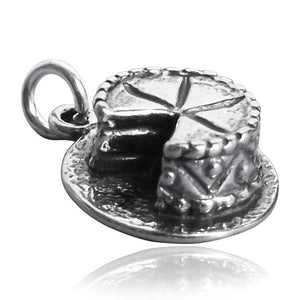Sterling Silver Cake Charm | Amanda Jo Charms