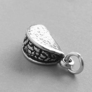 Sterling Silver Mexican Taco Charm