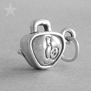Sterling Silver Bowling Bag Charm