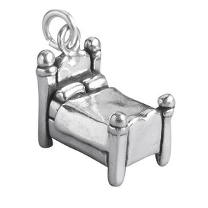 Sterling Silver Bed Charm